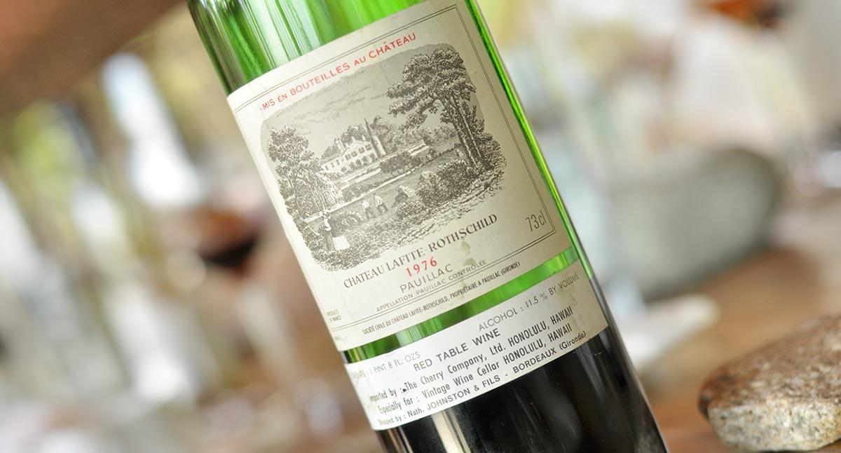 シャトー・ラフィット・ロートシルトは全ボルドーの頂点に君臨する5大シャトーの筆頭/世界最高峰のワイン